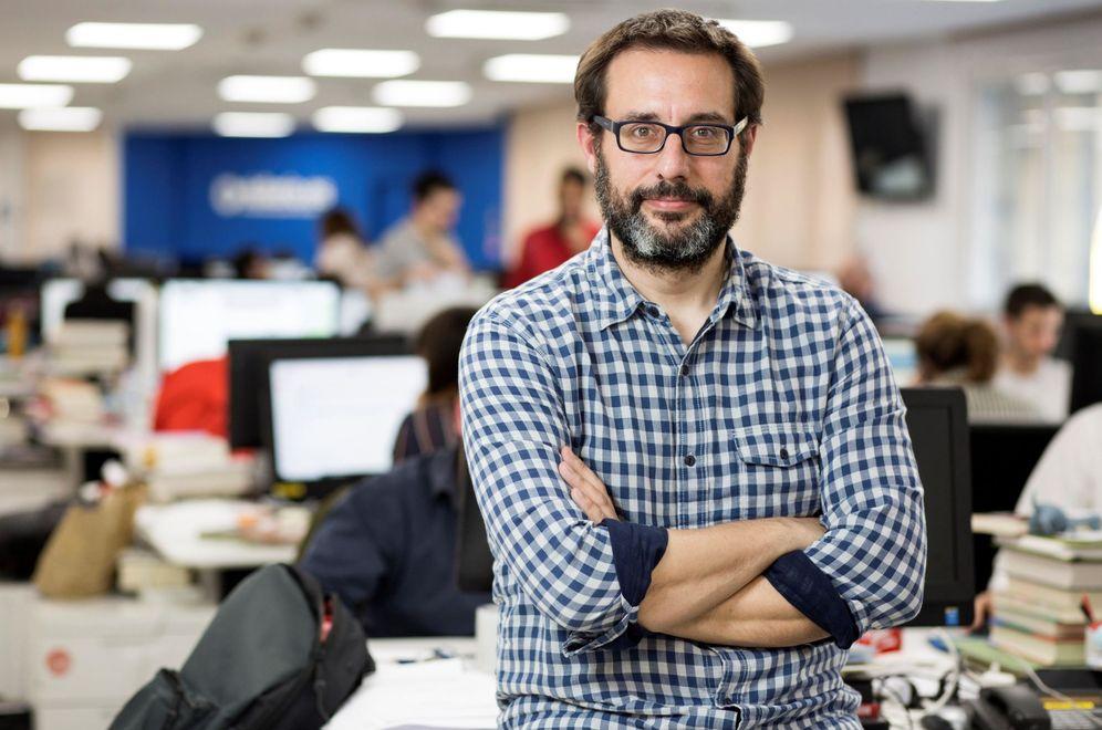 Foto: El periodista Andrés Gil, redactor jefe de Política de eldiario.es y hasta ahora candidato a la presidencia de RTVE. (EFE)