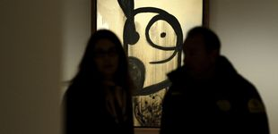 Post de Miró asesina y viola a la pintura en Madrid