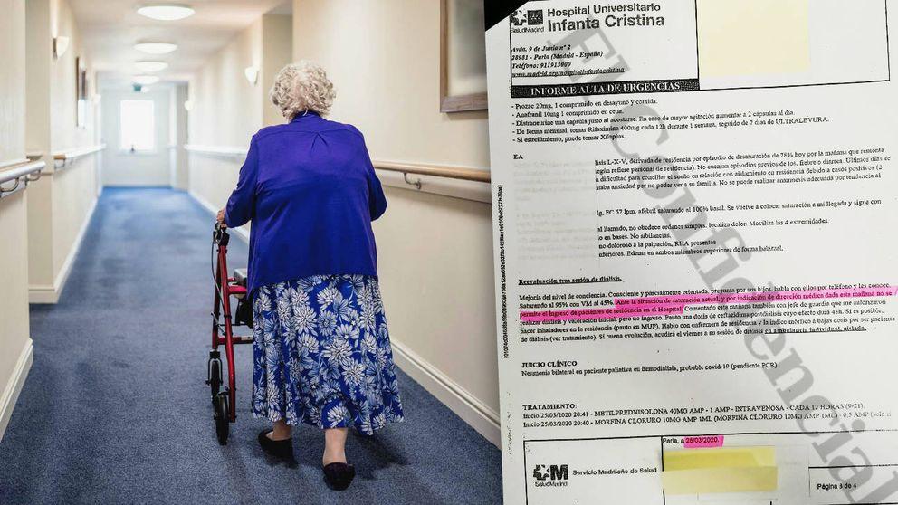 Así se condenó a los viejos: No se permite ingresar pacientes de residencias al hospital