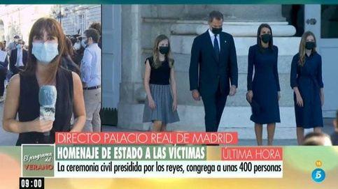 Durísimos reproches a los políticos en Tele 5 durante el homenaje a las víctimas
