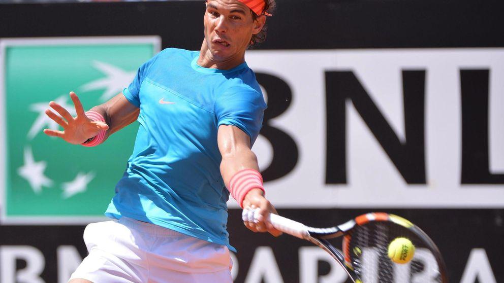 Nadal continúa mejorando y derrota al cañonero Isner jugando un gran partido