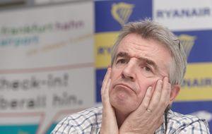 Ryanair hace su segundo profit warning en dos meses y se hunde un 10%