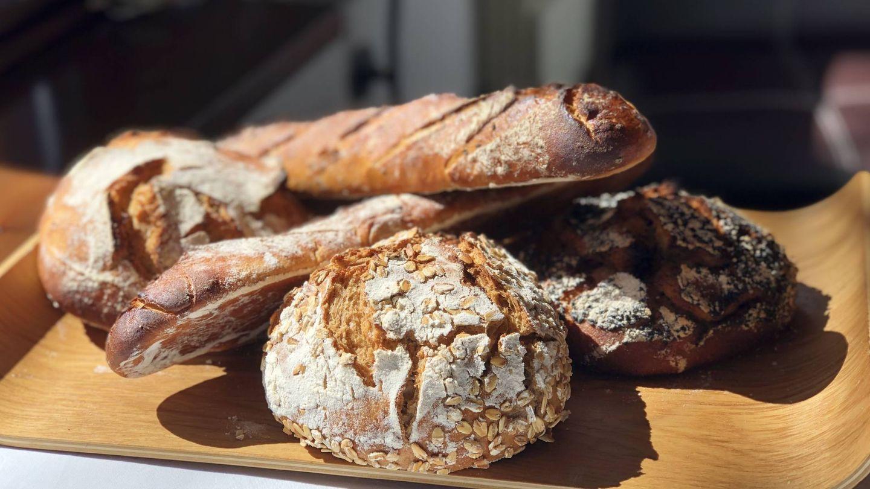 Panes elaborados en Molino de Alcuneza.