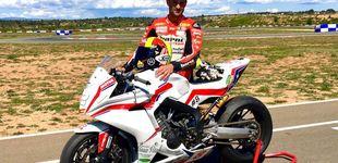 Post de Xavi Forés, tras salir ardiendo el día anterior, termina sexto en Superbikes
