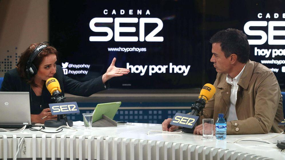 Foto: 'Hoy por hoy', presentado por Pepa Bueno y Gemma Nierga, lidera las audiencias de las mañanas. (EFE)