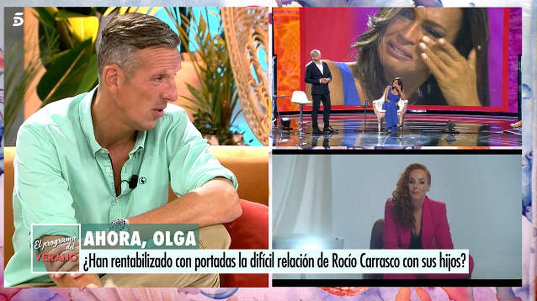 Joaquín Prat en 'El programa del verano'. (Telecinco)