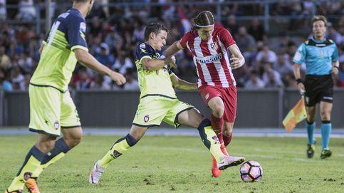 Gaitán deja su sello de calidad en su estreno en el Atlético de Madrid