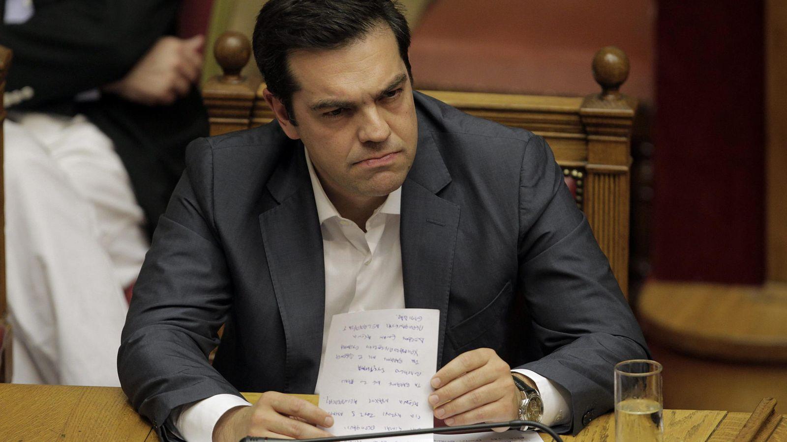 Foto: El Primer Ministro de Grecia Alexis Tsipras. (Efe)