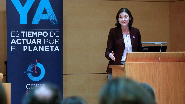 La ministra de Industria en funciones, Reyes Maroto. (EFE)