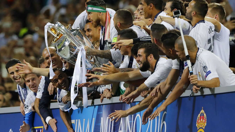 Zidane se vistió de señor Lobo