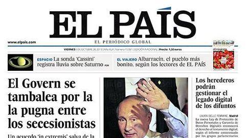 El colapso del Parlament, en las portadas de los periódicos