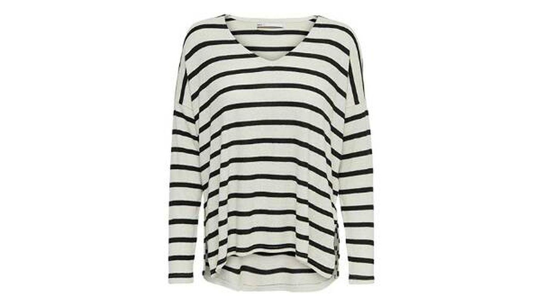 Suéter de rayas clásico Only
