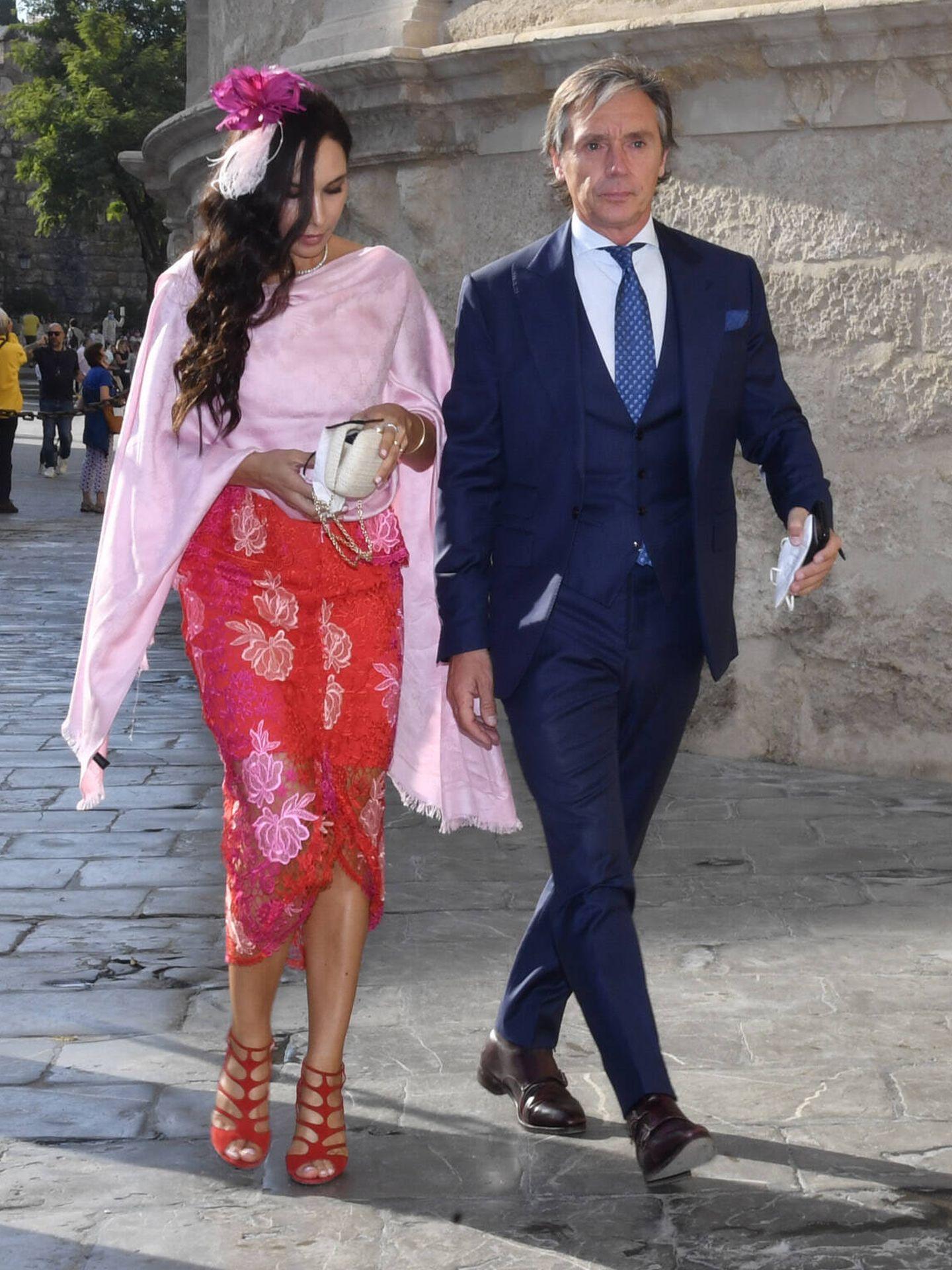 Israel Bayón y Cristina Sainz. (Gtres)