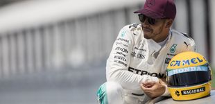 Post de El niño que lloró en un camión la muerte de Senna puede superarle el domingo