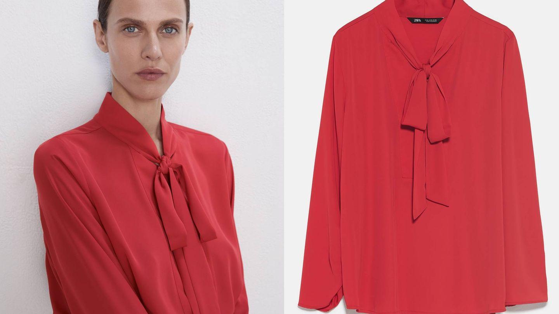 Ya debes estar enamorada de esta blusa tan romántica. (Cortesía)