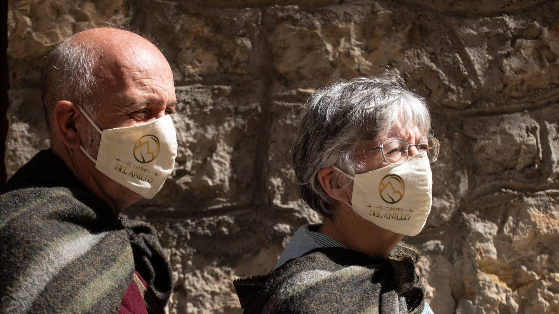 Gonzalo Fernández y Gemma Álvarez, promotores del Camino del Anillo. (Isabel Blanco)