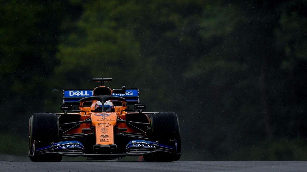 Foto: Carlos Sainz, durante la 'qualy' de Hungaroring. (EFE)
