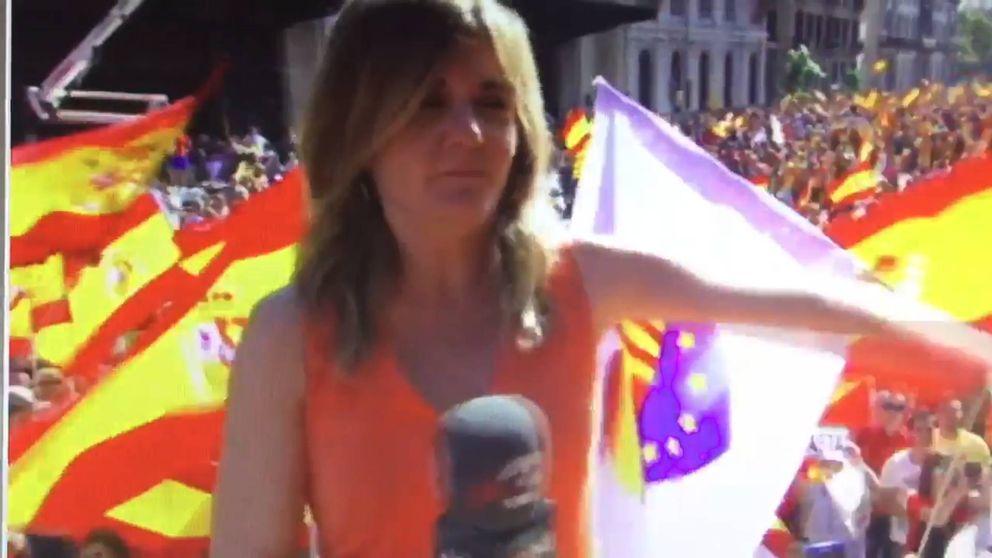 Una reportera de TV3, agredida y perseguida tras la manifestación