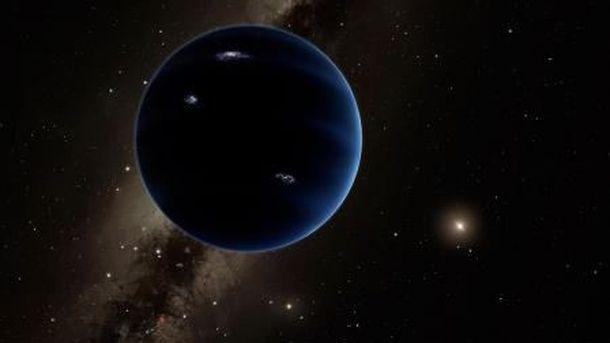 Foto: Ilustración del Planeta Nueve. Vía: Caltech/R. Hurt (IPAC)