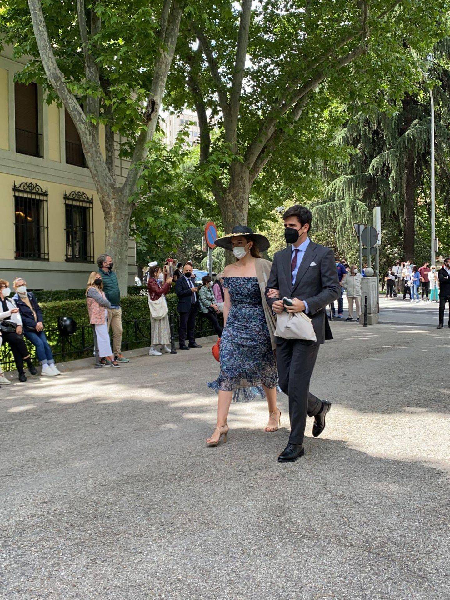 Inés Pérez Pla y su pareja. (PI)