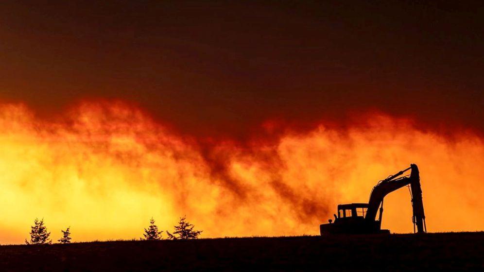 Foto: Incendios en Salem City, Oregon. (Reuters)