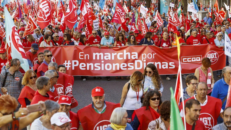 Pensiones, feminismo, salarios... Podemos vuelve a la calle para recuperar votos