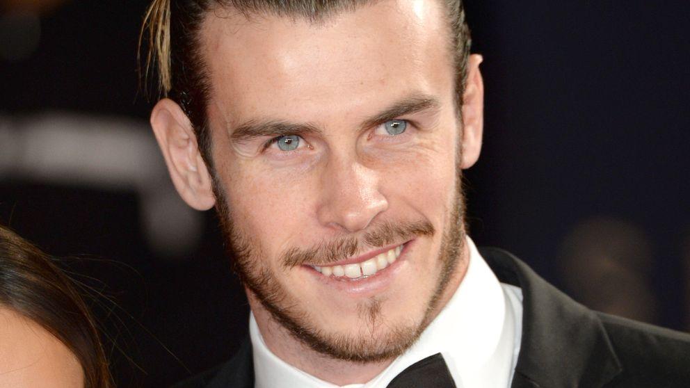 Gareth Bale y su comprometida foto en una piscina