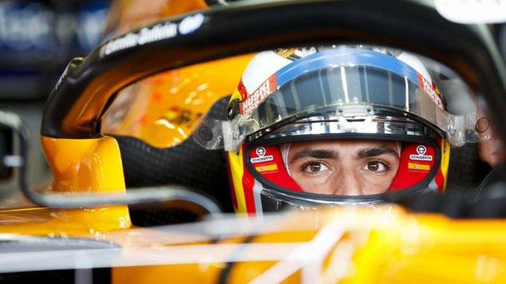 Foto: Carlos Sainz no pudo dar ni una vuelta del Gran Premio de Bélgica (McLaren)