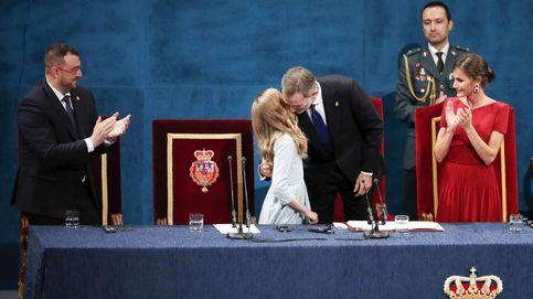 Premios Princesa de Asturias: el primer discurso de Leonor y la emoción de Felipe VI