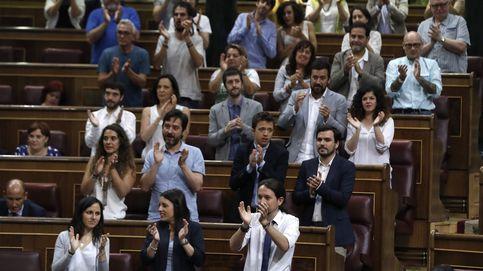 La moción de censura fracasa con 170 noes, 97 abstenciones y solo 82 apoyos