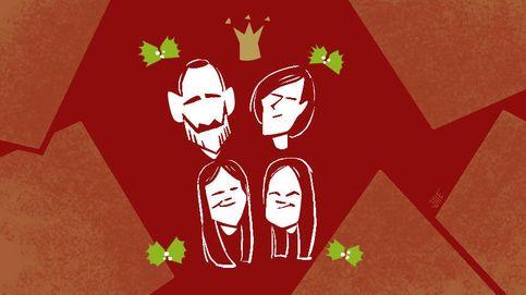 La intrahistoria de las felicitaciones navideñas de la familia real