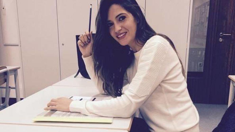Sara Carbonero enseña portugués a su hijo Martín