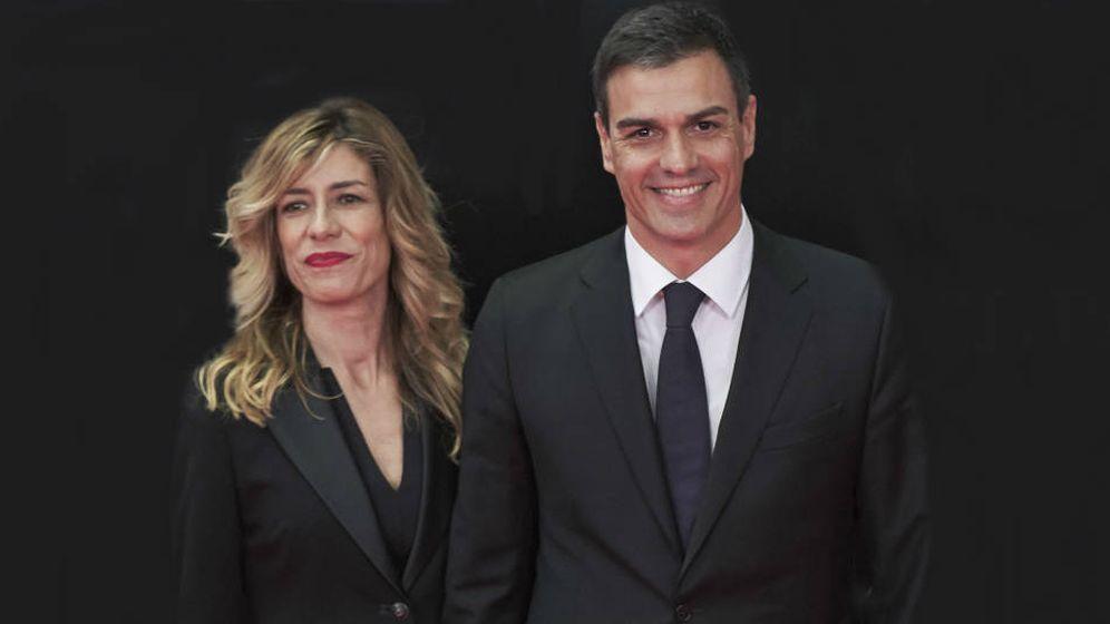 Foto: Begoña Gómez y Pedro Sánchez. (Getty Images)