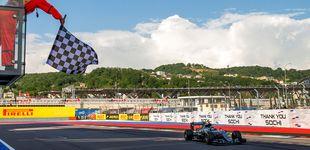 Post de Horarios y televisión del Gran Premio de Rusia de Fórmula 1