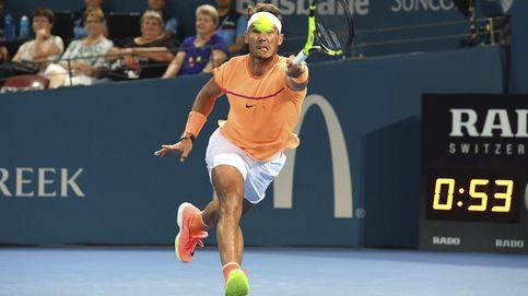 Milos Raonic remonta y se impone a Rafa Nadal en un disputado partido