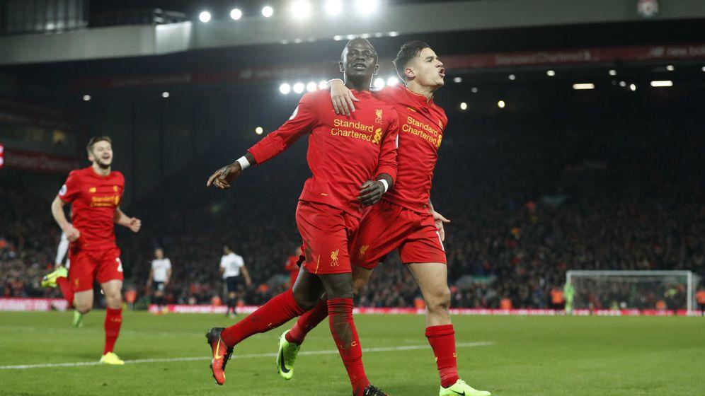 Foto: Sadio Mane fue el autor de los dos goles del Liverpool (Carl Recine/Reuters)