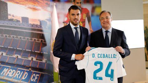 Dani Ceballos fue presentado como nuevo jugador del Real Madrid