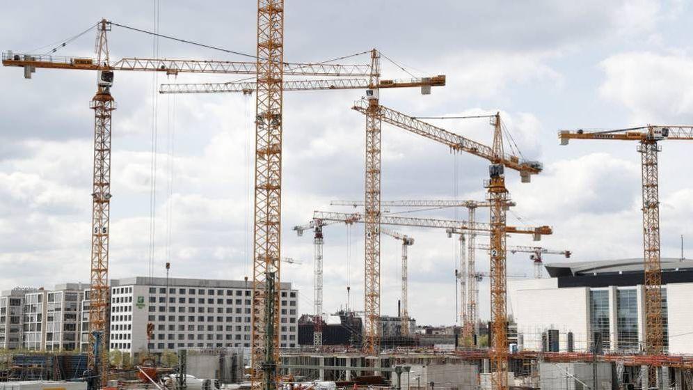Foto: Viviendas en construcción. (EFE)