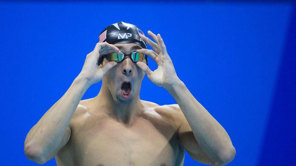 Foto: Michael Phelps en una de sus finales de los Juegos Olímpicos de Río de Janeiro. (Reuters)