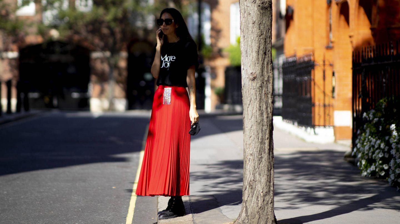 El rojo vuelve a las calles. (Imaxtree)