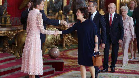 El regreso de las ex vicepresidentas: Soraya y María Teresa, estrellas de la recepción