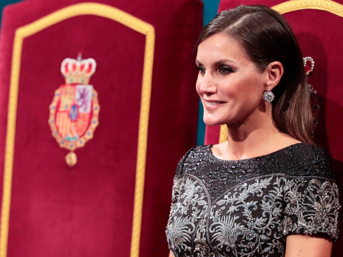 Foto: La reina Letizia, en los Premios Princesa de Asturias 2018. (LP)