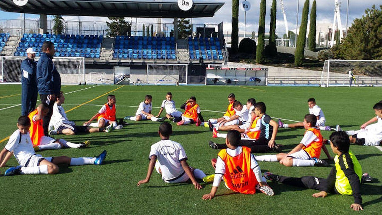 El estadio del barrio de Suoani en Tánger donde el Real Madrid tiene una escuela. (Real Madrid)