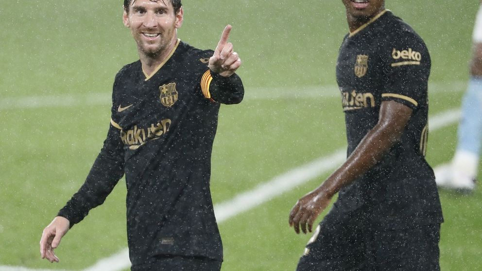 Atención, noticia: el Barça ya no recula ni quedándose con uno menos (0-3)