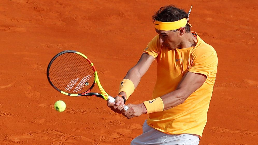 Foto: Rafael Nadal supera su primera prueba contra Aljaz Bedene. (EFE)