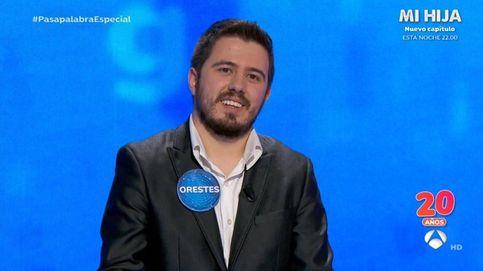 'Pasapalabra' 20 años | Orestes se quiebra en su vuelta al rosco: Gracias a Antena 3