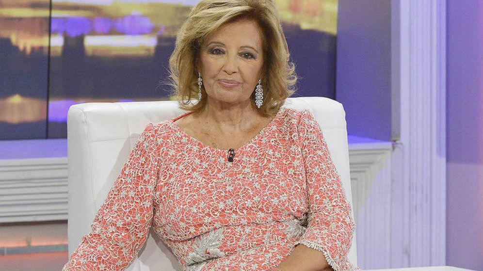 Foto: María Teresa Campos en '¡QTTF!'. (Mediaset España)