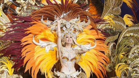 Gala de elección de la reina del carnaval de Santa Cruz