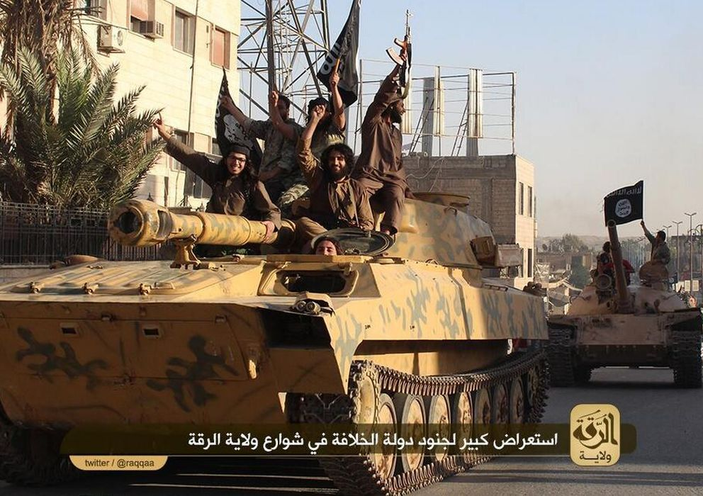 Foto: Yihadistas ISIS. (Twitter)