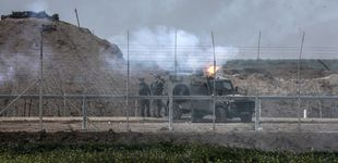Post de Israel bombardea centros de Hamás en Gaza en respuesta a un proyectil y los globos